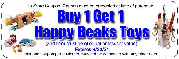 happy beaks bird toys buy 1 get 1
